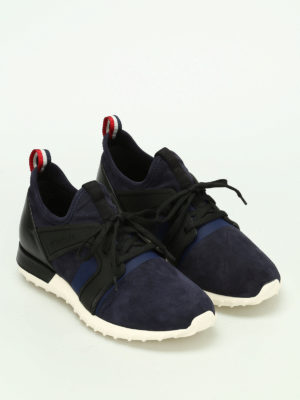 Moncler: trainers online - Emilien suede sneakers