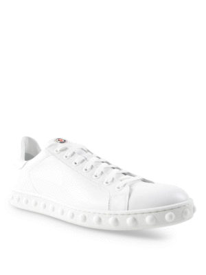 Moncler: trainers online - Fifi leather sneakers