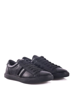 Moncler: trainers online - La Monaco leather low-top sneakers
