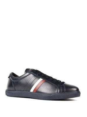Moncler: trainers online - La Monaco leather sneakers