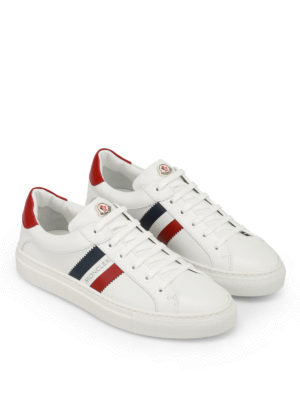 Moncler: trainers online - New Leni leather sneakers