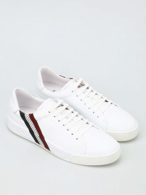 Moncler: trainers online - Remi leather sneakers