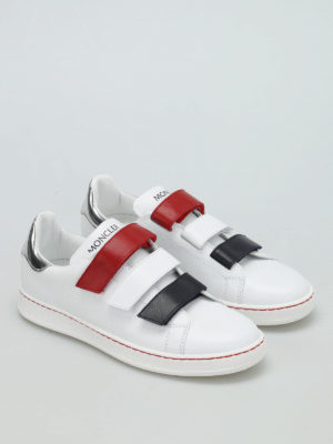 Moncler: trainers online - Simpson velcro straps sneakers