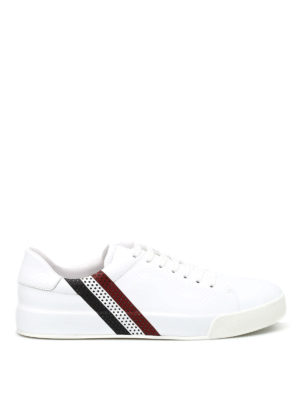 Moncler: trainers - Remi leather sneakers