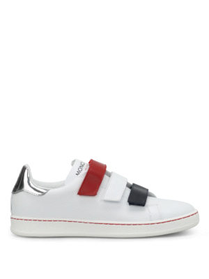 Moncler: trainers - Simpson velcro straps sneakers