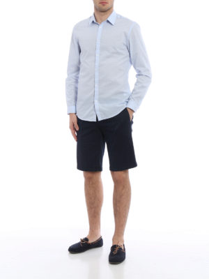 Moncler: Trousers Shorts online - Chino-inspired cotton shorts