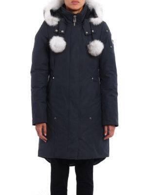 Moose Knuckles: padded coats online - Sterling fur trimmed padded  parka