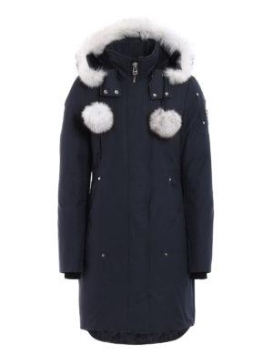 Moose Knuckles: padded coats - Sterling fur trimmed padded  parka