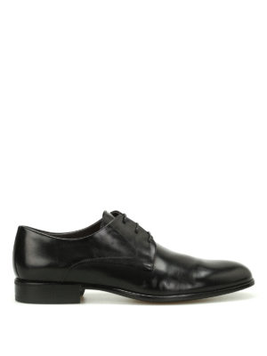 Moreschi: classic shoes - Liverpool calfskin Derby shoes