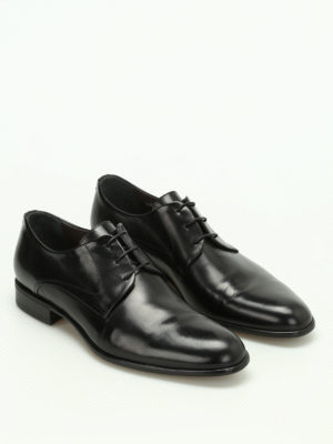 Moreschi: classic shoes online - Liverpool calfskin Derby shoes