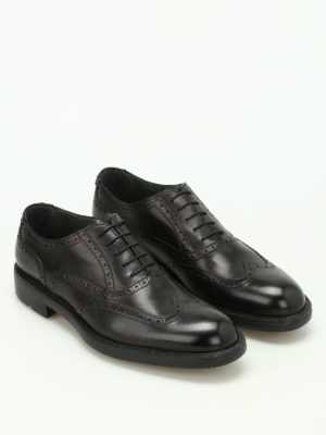 Moreschi: lace-ups shoes online - Stoccolma ultra-light brogue shoes