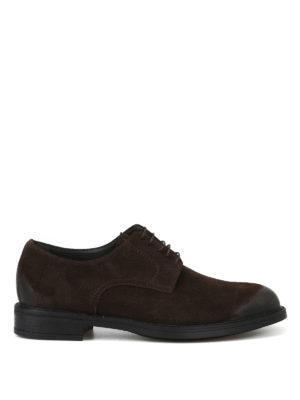 MORESCHI  scarpe stringate - Derby in camoscio effetto used c30db688de2