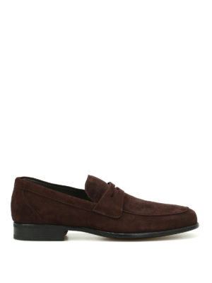 Moreschi: Loafers & Slippers - Graz ultra-light suede loafers