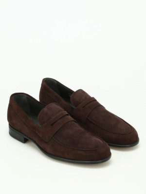 Moreschi: Loafers & Slippers online - Graz ultra-light suede loafers