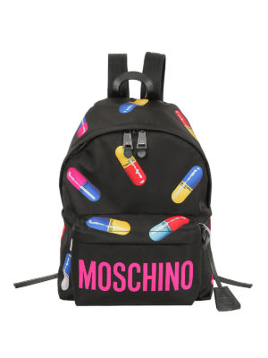 Moschino: backpacks - Capsule collection nylon backpack