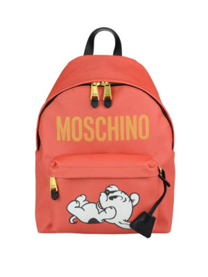 Moschino: backpacks - Limited edition Pudgy backpack