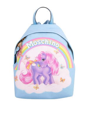 Moschino: backpacks - My Little Pony backpack