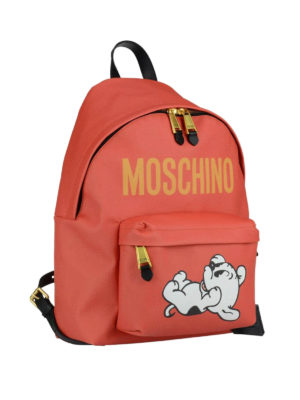 Moschino: backpacks online - Limited edition Pudgy backpack