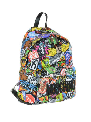 Moschino: backpacks online - Multicolour print backpack