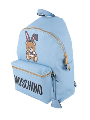 Moschino: backpacks online - Playboy print backpack