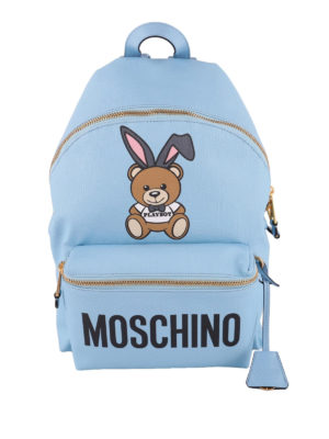 Moschino: backpacks - Playboy print backpack