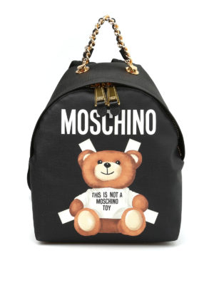 Moschino: backpacks - This is not a Moschino Toy backpack