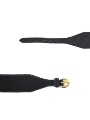 Moschino: belts online - Logo high-waist belt