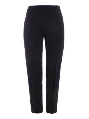 Moschino Boutique: casual trousers - No pocket tapered trousers