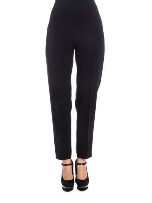 Moschino Boutique: casual trousers online - No pocket tapered trousers