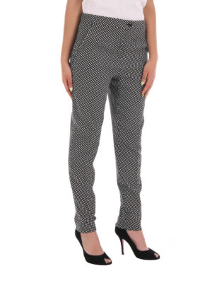 Moschino Boutique: casual trousers online - Wool blend casual trousers