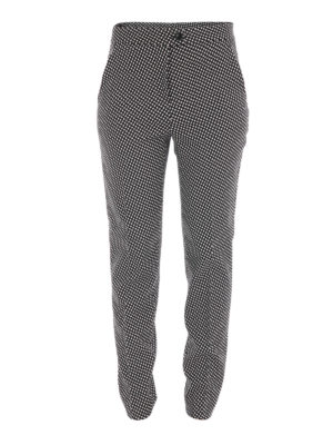 Moschino Boutique: casual trousers - Wool blend casual trousers