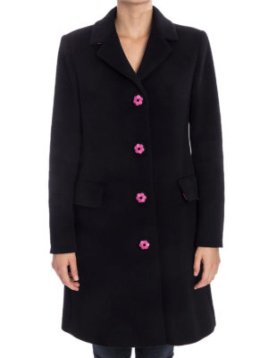 Moschino Boutique: knee length coats online - Wool and cashmere coat