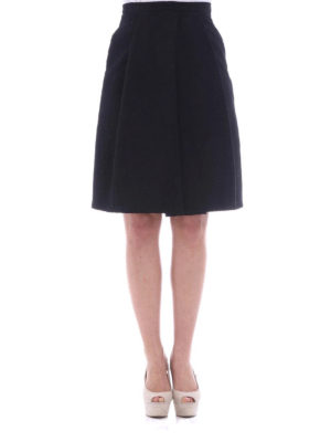 Moschino Boutique: Knee length skirts & Midi online - Cotton blend structured wheel skirt