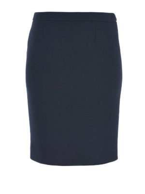 Moschino Boutique: Knee length skirts & Midi - PURE WOOL PENCIL SKIRT