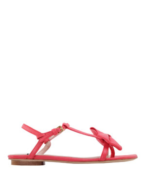 Moschino Boutique: sandals - Bow detail thong sandals