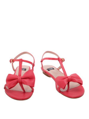Moschino Boutique: sandals online - Bow detail thong sandals