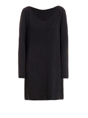 Moschino Boutique: short dresses - Loose fitting V-neck dress