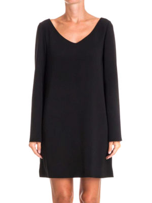 Moschino Boutique: short dresses online - Loose fitting V-neck dress