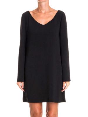 Moschino Boutique: short dresses online - Loose fitting V-neck dress