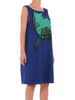 Moschino Boutique: short dresses online - Sleeveless A-line printed dress