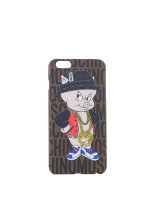 Moschino: Cases & Covers - PORKY PIG I-PHONE 6 PLUS COVER