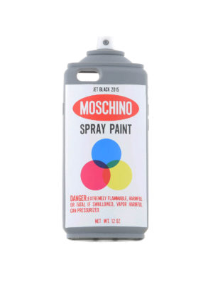 Moschino: Cases & Covers - SPRAY PAINT IPHONE 6 COVER
