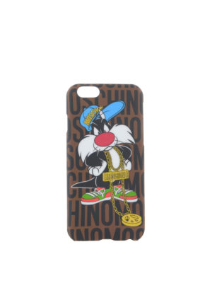 Moschino: Cases & Covers - SYLVESTER I-PHONE 6 PLUS COVER