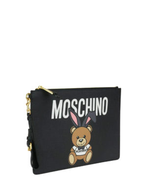 Moschino: clutches online - Ready To Bear Playboy© clutch