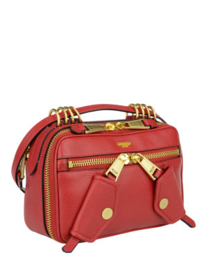 Moschino Couture: cross body bags online - Leather bag with shoulder strap