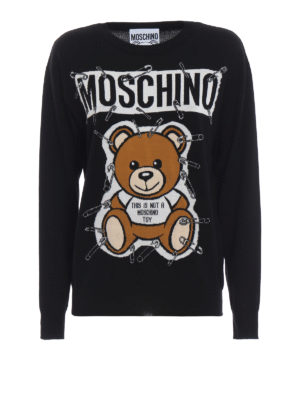 MOSCHINO: maglia collo rotondo - Pull girocollo This is not a Moschino Toy