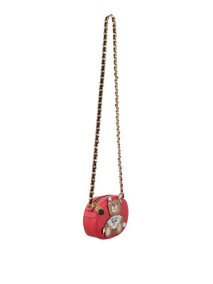 Moschino: cross body bags online - Bear applique crossbody