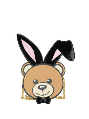 Moschino: cross body bags - Ready To Bear Playboy© bag