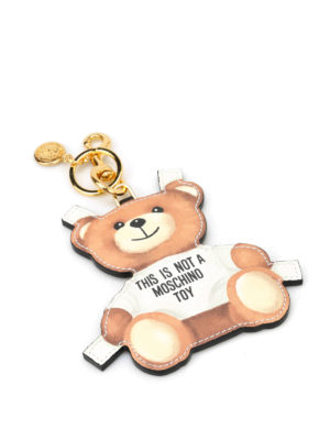 Moschino: key holders - This is not a Moschino Toy charm