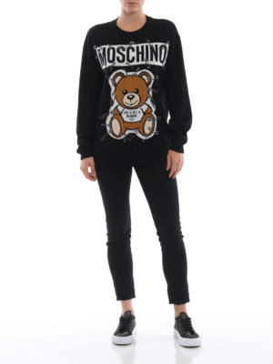 MOSCHINO: maglia collo rotondo online - Pull girocollo This is not a Moschino Toy